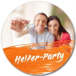 ausgefallene Einladung Bierdeckel selbst gestalten Helfer Party Front