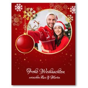 Flaschenetikett für Weinflasche und Sektflasche Weihnachten Sterne eigenem Text und Foto